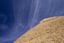 Free Top Of Egyptian Pyramid Royalty Free Stock Photos - 13917208