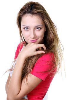 Free Beautiful Blonde Young Woman Royalty Free Stock Photo - 13917265