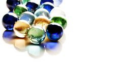 Glossy Balls Royalty Free Stock Images
