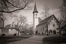 Free Old Church Royalty Free Stock Photography - 13918257