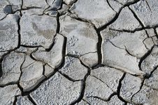 Free Fissures In Dry Mud Stock Photography - 13918362