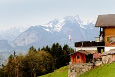 Free Spring In Swiss Alps Stock Photography - 13918652