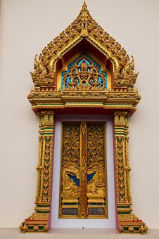 Free Thai Style Window Royalty Free Stock Photography - 13919747