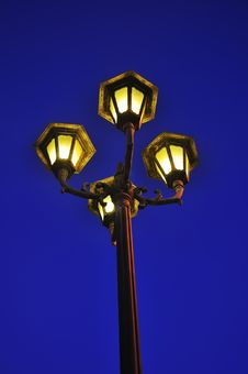 Free Lampost Royalty Free Stock Image - 13919916