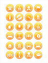 Free Set Of 21 Web Signs Royalty Free Stock Image - 13927046