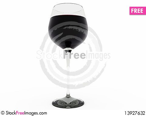 Free Glass Of Wine Stock Photography - 13927632