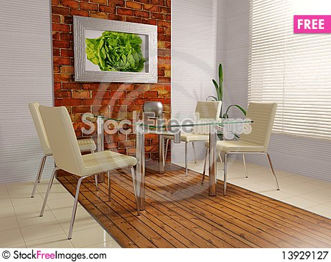 Free Kitchen Royalty Free Stock Photography - 13929127