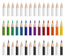 Free Color Pencils Royalty Free Stock Photography - 13920847