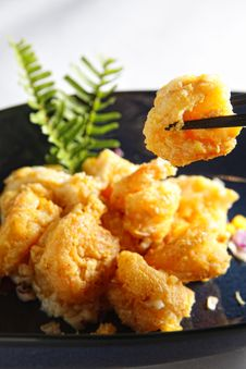 Free Fried Shrimp Royalty Free Stock Image - 13920976