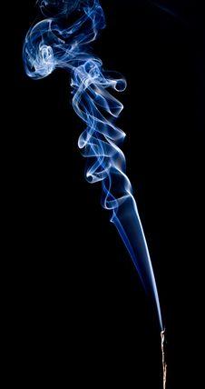 Smoke Pattern Royalty Free Stock Photo