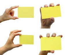 Free Card Blank Stock Photos - 13921703