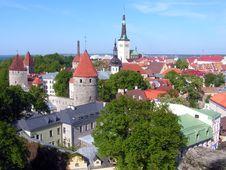 Free Tallinn, Estonia Old Town Stock Photography - 13921712