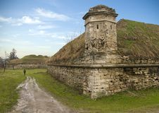 Old Historical Bastile Fortification Royalty Free Stock Photography