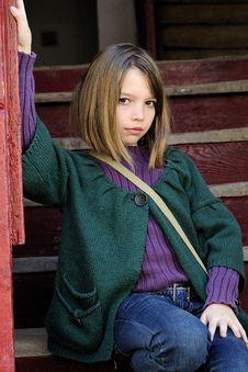 Free White Girl Posing Stock Photos - 13922313