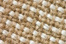 Free Close Up View Of Sackcloth Material Royalty Free Stock Photos - 13922358