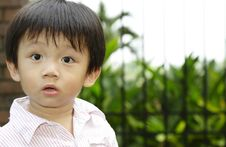 Free Asian Boy Looking Surprised Stock Image - 13922661