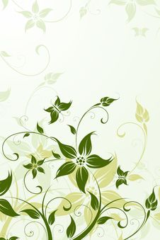 Free Floral Background Stock Image - 13922841