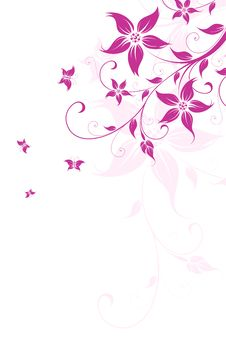 Free Floral Background Royalty Free Stock Photos - 13922918