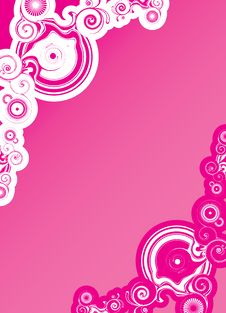 Free Pink Abstract Shapes Stock Photography - 13922942