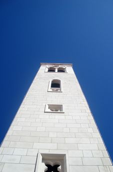 Bell Tower Of Church Stock Photography