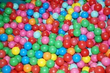 Colored  Balls Stock Images