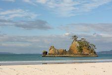Free Pungapunga Island New Zealand Stock Photography - 13923782