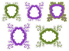 Free Green And Purple Frames Stock Photos - 13923803