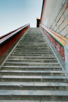 Free Stone Steps In The Summer Palace Stock Image - 13923911