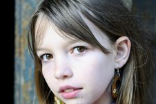 Free White Model Portrait Stock Image - 13924551