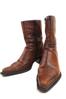 Free Hig Heels Half Boot Stock Image - 13924921