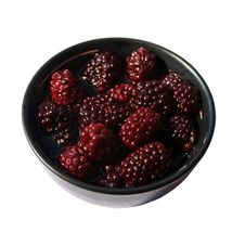 Free Bowl Of Blackberries Stock Images - 13924964