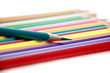 Free Colorful Penciles Stock Photos - 13925073