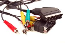 Free Video Rca A Cable Stock Image - 13925581