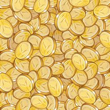 Free Coin Pattern Royalty Free Stock Photography - 13926417