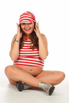 Free Pregnant Amazing Woman Royalty Free Stock Photography - 13926497