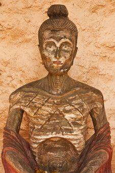 Free Buddha Image In Self-training Model Stock Images - 13926904