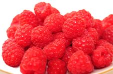 Free Berries Red Raspberries Royalty Free Stock Image - 13927216