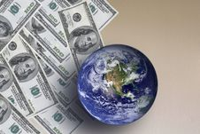 Free World And The Dollar Stock Photography - 13927732