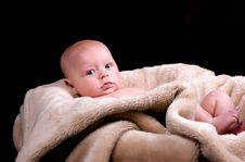 Free 3 Month Old Baby Royalty Free Stock Photos - 13928728