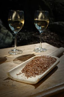 Free Two Wine Glass Stock Photography - 13929152
