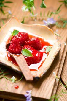 Free Strawberry Jam Stock Image - 13929461