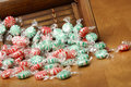 Free Peppermint Swirl Candy Royalty Free Stock Images - 13931199