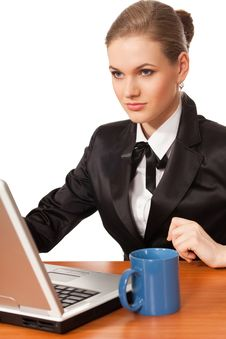 Free Business Woman Stock Image - 13930721