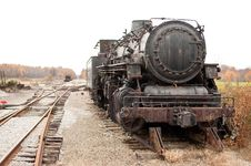 Free Forgotten Locomotive Royalty Free Stock Photography - 13930907