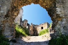 Free Ruins Of Lietava Castle Royalty Free Stock Photography - 13931037