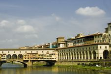 Free Old Bridge,florence,italy Stock Images - 13931214