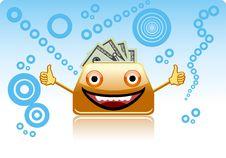 Free Smiling Purse. Stock Image - 13931431