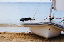 Free Boat On The Shore Stock Images - 13931434