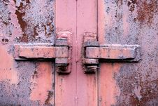 Free Rusty Metal Hinge Stock Photo - 13931450