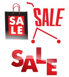 Sale Signs Stock Images